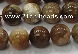 COP504 15.5 inches 14mm round natural red opal gemstone beads