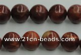 COP514 15.5 inches 14mm round red opal gemstone beads wholesale