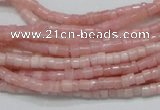 COP57 15.5 inches 2.5*3.5mm column natural pink opal gemstone beads