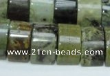 COS12 15.5 inches 12*20mm double drilled ocean stone beads wholesale