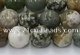 COS307 15.5 inches 8mm round ocean jasper beads wholesale