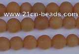 CPI302 15.5 inches 8mm round matte red aventurine beads wholesale