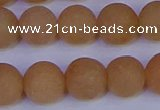 CPI305 15.5 inches 14mm round matte red aventurine beads wholesale