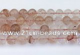 CPQ333 15.5 inches 12mm round pink quartz beads wholesale