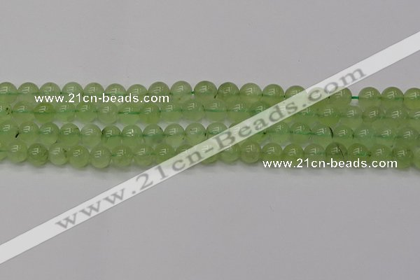 CPR312 15.5 inches 8mm round natural prehnite gemstone beads