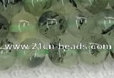 CPR390 15.5 inches 6mm round prehnite beads wholesale