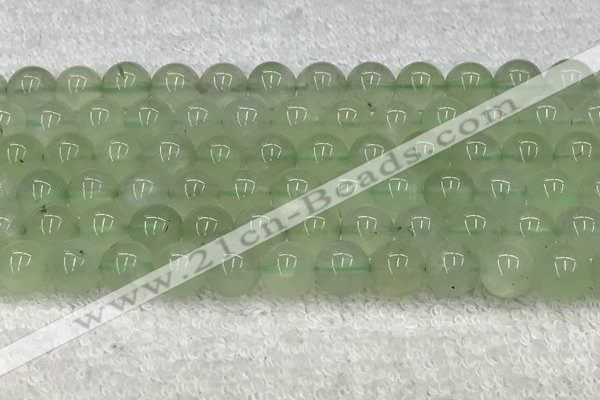 CPR403 15.5 inches 12mm round natural prehnite beads