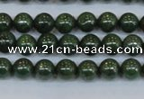CPY761 15.5 inches 6mm round pyrite gemstone beads wholesale