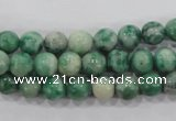 CQJ03 15.5 inches 8mm round Qinghai jade beads wholesale