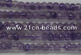 CRB102 15.5 inches 2.5*4mm faceted rondelle amethyst beads