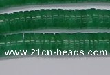 CRB1030 15.5 inches 2*4mm heishi green aventurine beads wholesale