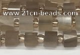 CRB1054 15.5 inches 4*6mm - 5*6mm faceted tyre moonstone beads