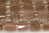 CRB1060 15.5 inches 4*6mm - 5*6mm faceted tyre moonstone beads