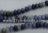 CRB19 15.5 inches 4*6mm rondelle sodalite gemstone beads