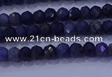 CRB1903 15.5 inches 2*3mm faceted rondelle sapphire beads