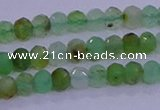 CRB1916 15.5 inches 2.5*4mm faceted rondelle Australia chrysoprase beads