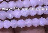 CRB1965 15.5 inches 3*4mm faceted rondelle white moonstone beads