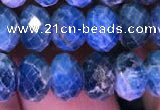 CRB1990 15.5 inches 6*8mm faceted rondelle apatite beads wholesale