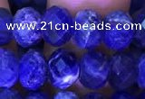 CRB1992 15.5 inches 6*8mm faceted rondelle sodalite beads