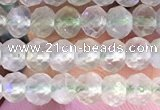 CRB2272 15.5 inches 3*4mm faceted rondelle prehnite beads