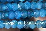 CRB2640 15.5 inches 2*3mm faceted rondelle apatite gemstone beads