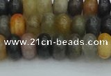 CRB2846 15.5 inches 5*8mm rondelle fancy jasper beads wholesale