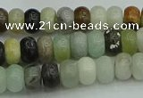 CRB2875 15.5 inches 4*6mm rondelle amazonite beads wholesale