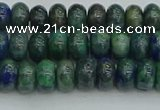 CRB2890 15.5 inches 4*6mm rondelle chrysocolla beads wholesale