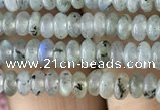 CRB4001 15.5 inches 2.5*4.5mm rondelle labradorite beads wholesale