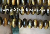 CRB4008 15.5 inches 2.5*4.5mm rondelle yellow tiger eye beads wholesale