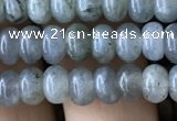 CRB4034 15.5 inches 4*6mm rondelle labradorite beads wholesale