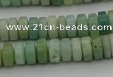 CRB425 15.5 inches 5*8mm rondelle amazonite gemstone beads