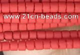 CRB5508 15 inches 2*2mm heishi synthetic turquoise beads wholesale