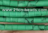 CRB5524 15 inches 2*2mm heishi synthetic turquoise beads wholesale