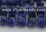 CRB640 15.5 inches 6*12mm tyre sodalite gemstone beads