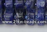 CRB642 15.5 inches 8*16mm tyre sodalite gemstone beads