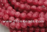 CRC01 16 inches 4mm round rhodochrosite gemstone beads wholesale