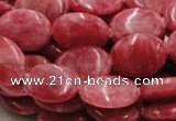 CRC08 16 inches 15*20mm oval rhodochrosite gemstone beads wholesale
