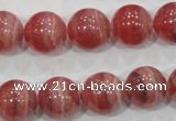 CRC105 15.5 inches 14mm round natural argentina rhodochrosite beads