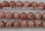 CRC755 15.5 inches 6mm round rhodochrosite beads wholesale