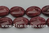 CRC833 15.5 inches 13*18mm oval Brazilian rhodochrosite beads