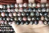 CRD353 15.5 inches 10mm round rhodonite beads wholesale