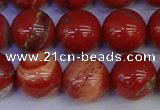 CRE305 15.5 inches 14mm round red jasper beads wholesale