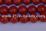 CRE322 15.5 inches 8mm round red jasper beads wholesale
