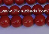 CRE323 15.5 inches 10mm round red jasper beads wholesale