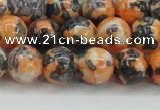 CRF325 15.5 inches 12mm round dyed rain flower stone beads wholesale