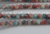 CRF450 15.5 inches 3mm round dyed rain flower stone beads wholesale