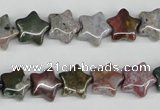 CRG09 15.5 inches 12*12mm star ocean agate gemstone beads wholesale