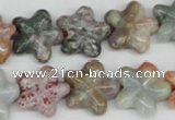 CRG22 15.5 inches 16*16mm star ocean agate gemstone beads wholesale