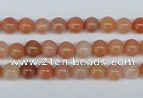 CRJ200 15.5 inches 6mm round natural red jade gemstone beads